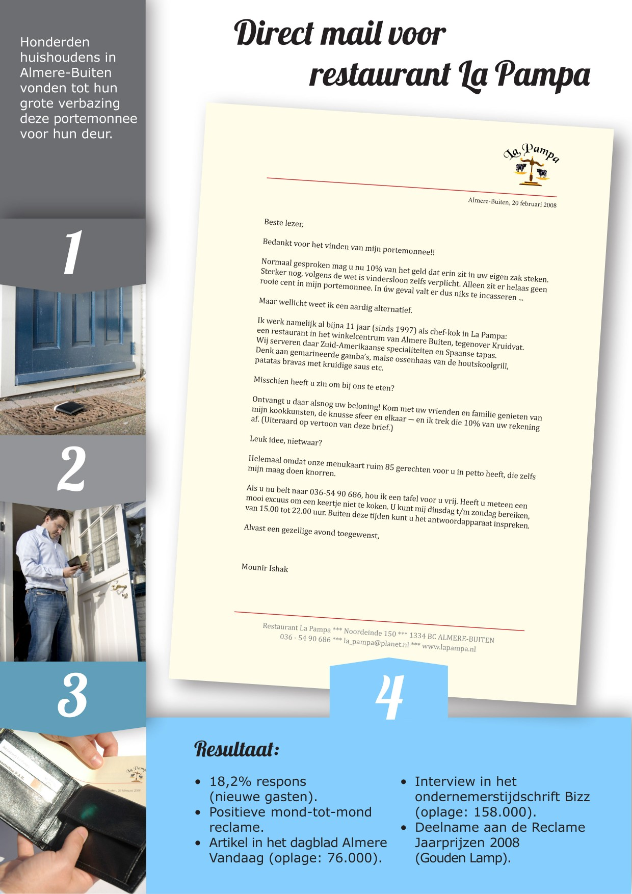 Voorbeeld direct mail (La Pampa)