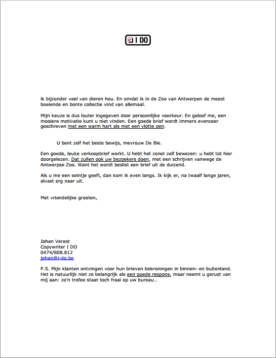 Duizendste brief