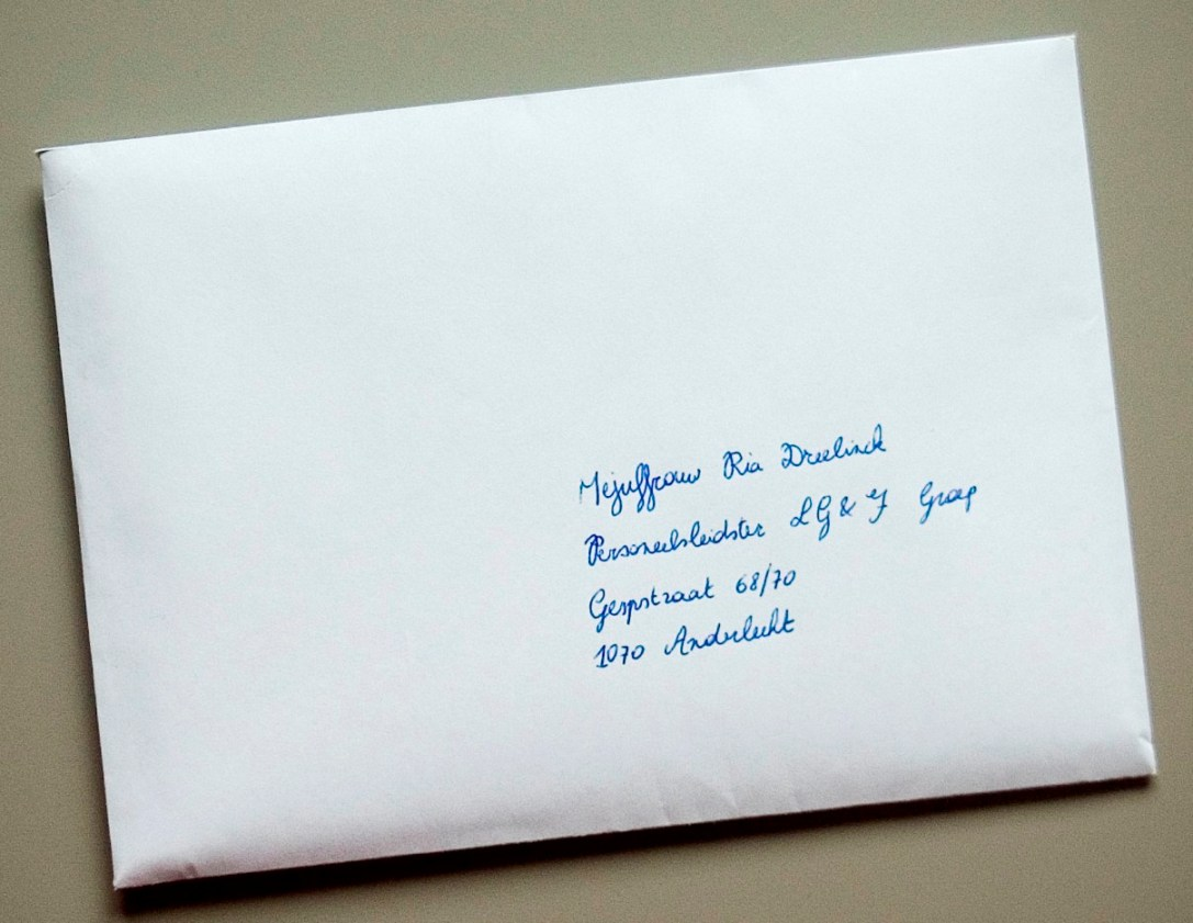aangetekende brief post